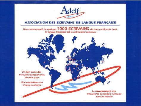 l'Association des Ecrivains de Langue Française - ADELF