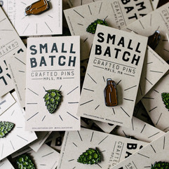 Small Batch Pins