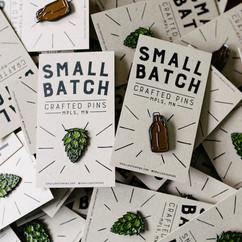 Small Batch Pins Branding