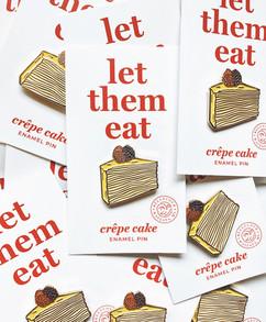 Crepe Cake Pins