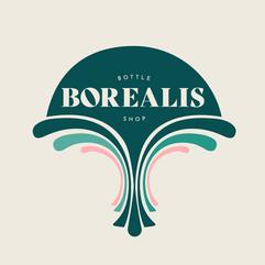 Borealis Bottle Shop Logo
