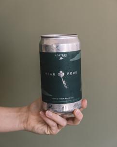 Portage Brewing Label Design