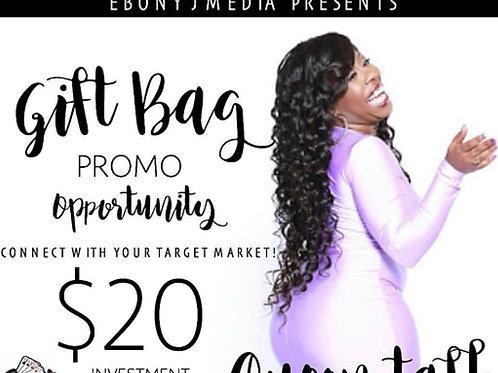 Swag Bag Sponsorship