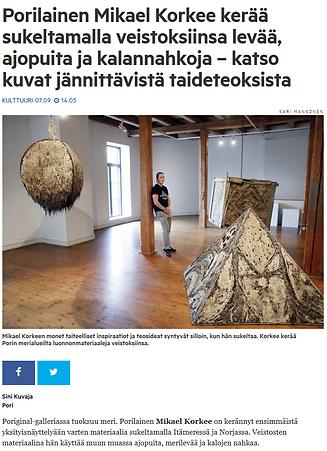 Satakunnan Kansa - Poriginal 2018 kansi.