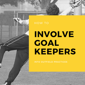 How to involve goalkeepers into outfield practices