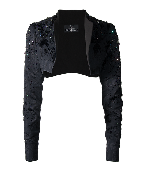 ROCK'n'GLAM Jacket coloured crystals