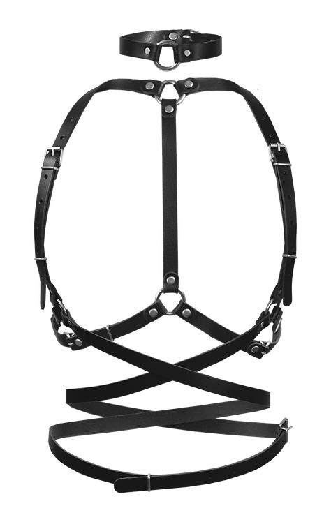 HARNESS BLACKleather