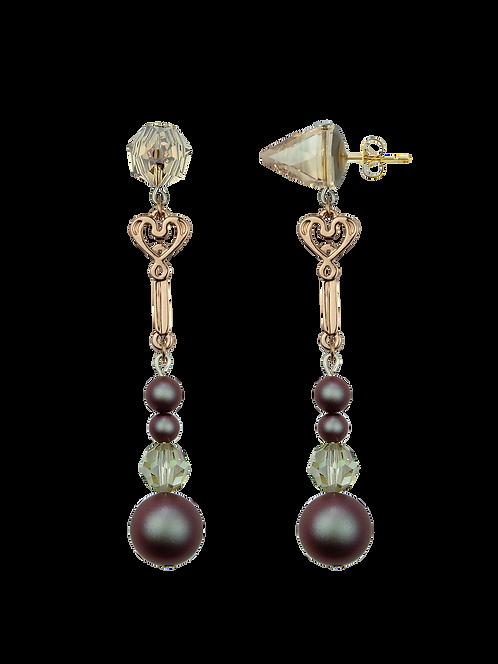 PEARL earrings Fleur