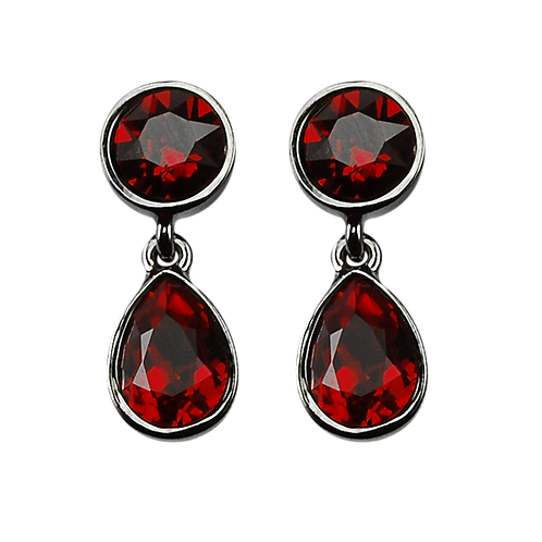 LIQUID RED Earrings