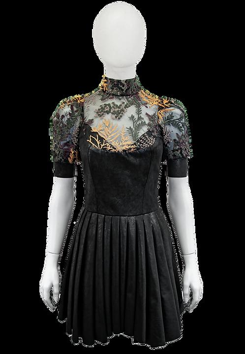 LA FLEUR dress pleated
