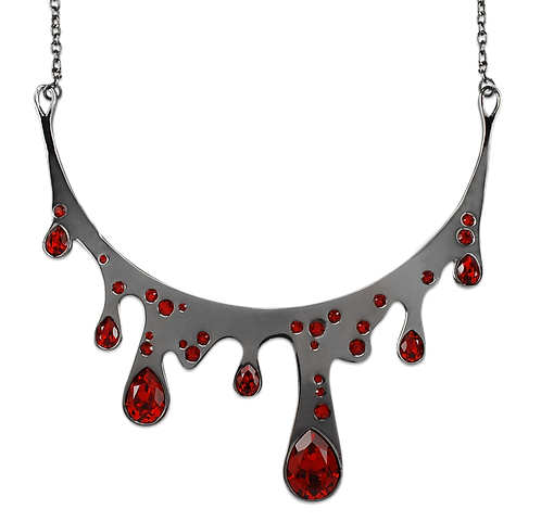 LIQUID RED Collier