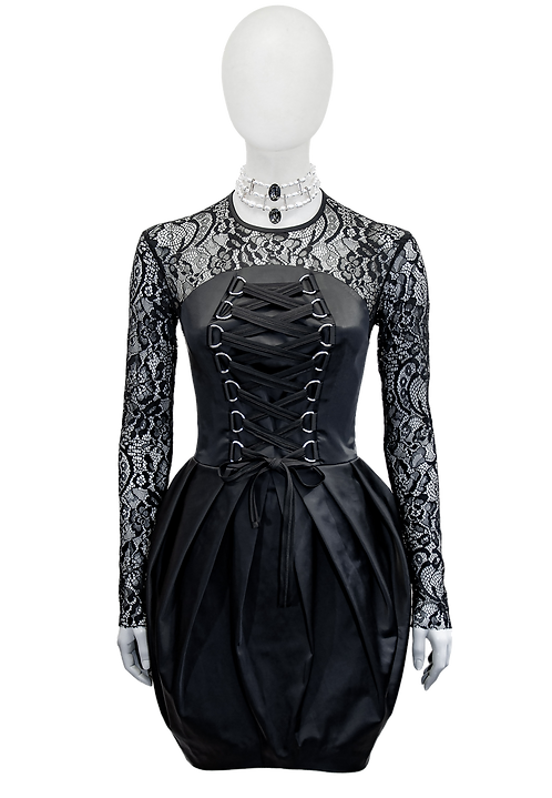 COCKTAILdress black laced