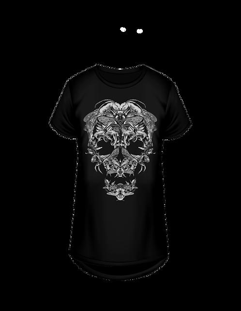 HERZBLUTshirt BLACK Beeskull