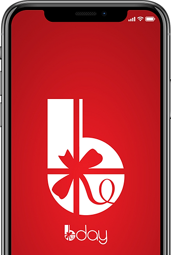 Phone With Bday Birthday Gift App