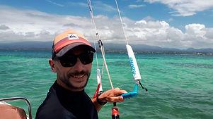 Moniteur Maximum Kite, Maxime BPJEPS KITE, Guadeloupe
