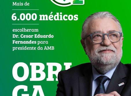Médicos elegem oposição para mudar a AMB