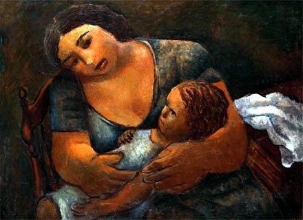 """Obra da Pinacoteca da APM no livro """"Di Cavalcanti – Conquistador de Lirismos"""""""