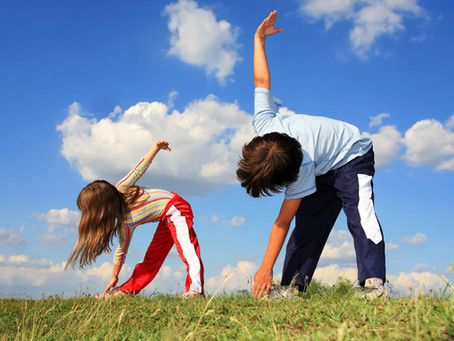 Crianças em ação