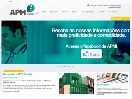 Visite o novo site da APM Taubaté