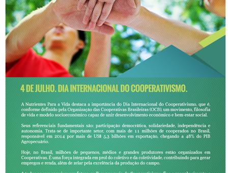 Dia Internacional do  Cooperativismo – 4 de Julho