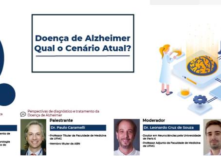 Live discute o cenário atual da Doença de Alzheimer