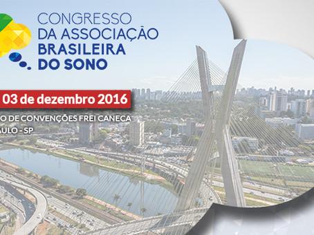 2 e 3 de dezembro: Congresso da Associação Brasileira do Sono