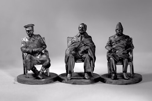 Yalta Summit Statues