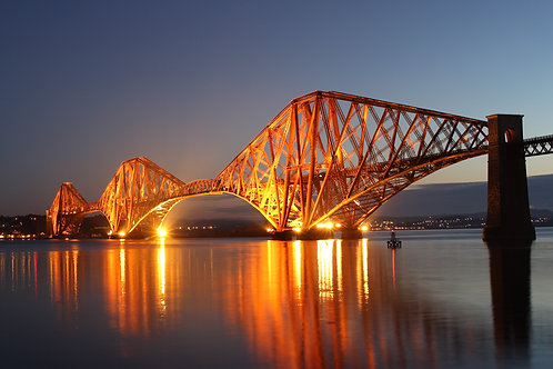 Forth Bridge at Sunrise, Edinburgh