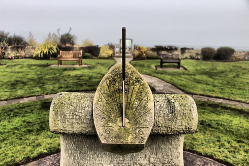 Ship Shaped Sundial in Cockenzie