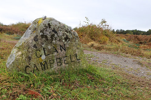 Clan Campbell Stone and Culloden