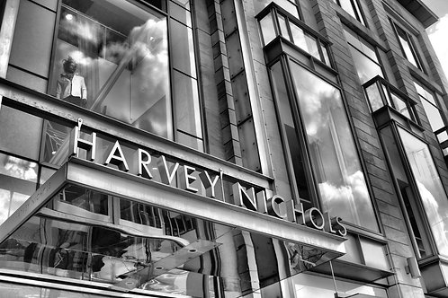 Shopping in St Andrew's Square, Edinburgh