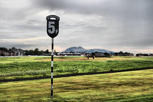 5 Furlong Marker, Musselburgh Racecourse