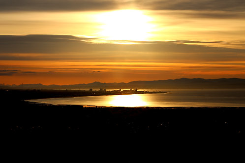 Sunset on Leith