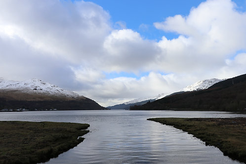 The Head of Loch Long at Arrochar