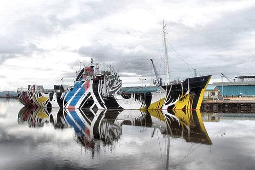 Colourful Ship, Edinburgh