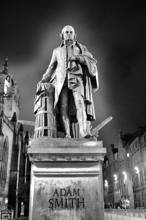 Adam Smith Statue, Founder of The Bank of England
