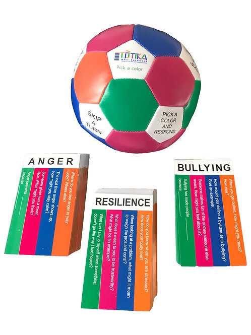 Totika Thumball & Resilience, Bullying & Anger Card Decks