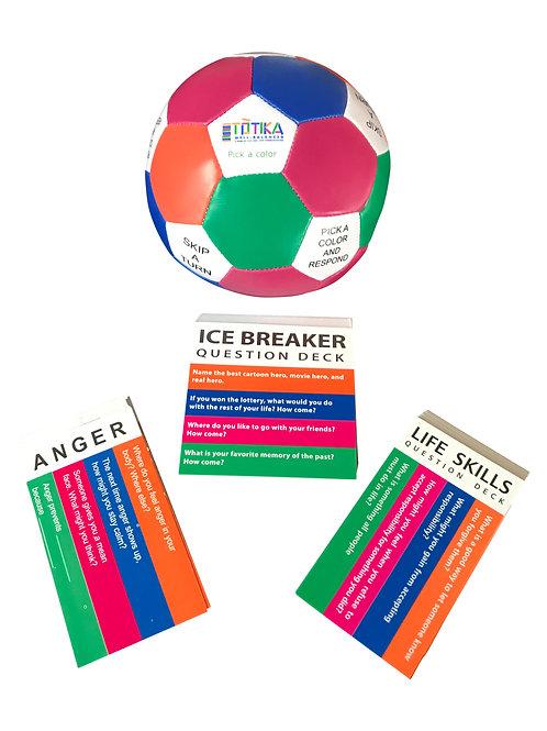 Totika Thumball & Icebreaker, Life Skills & Anger Card Decks