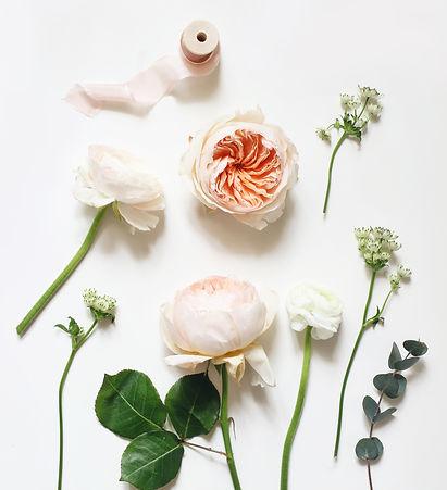 Summer botanical floral composition. Apr