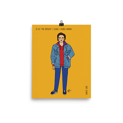 "Elaine / ""The Opposite"" / George Variant / 8x10 print"