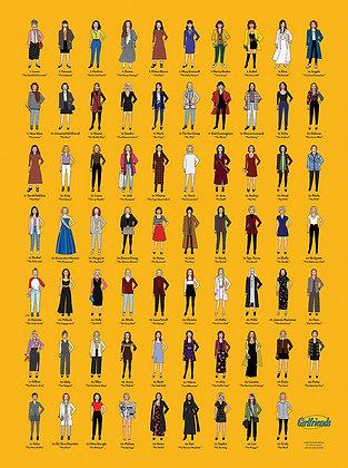 "#SeinfeldGirlfriends / 18x24"" Poster"