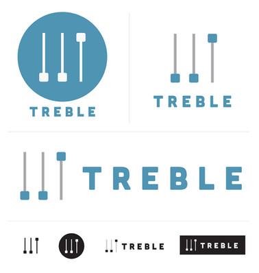 Treble Media - Logo Design