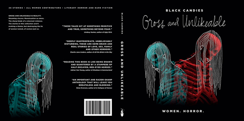 Gross and Unlikeable - Book Cover Design