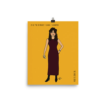"""Elaine / """"The Betrayal"""" / Schnapped Face / 8x10 Print"""