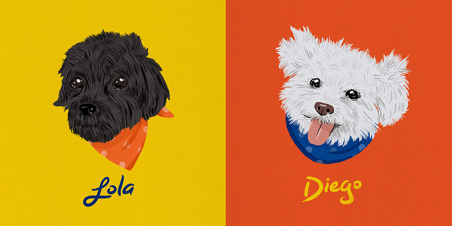 Lola and Diego