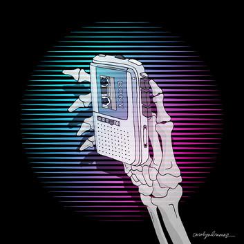 """The Tape Recorder"" (Short story illustration)"