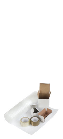 tape, labels, films, packaging peanuts, eco friendly boxes