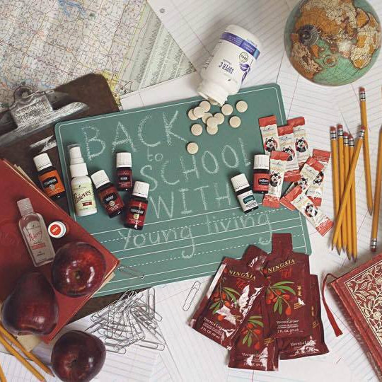 Back To School with Young Living