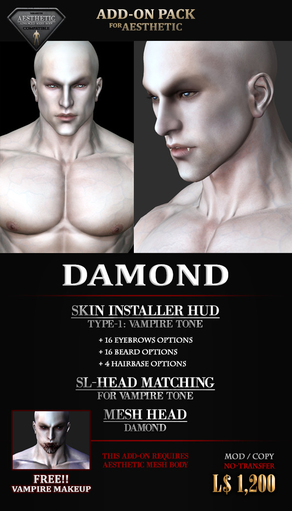 DAMOND: Add-On Pack