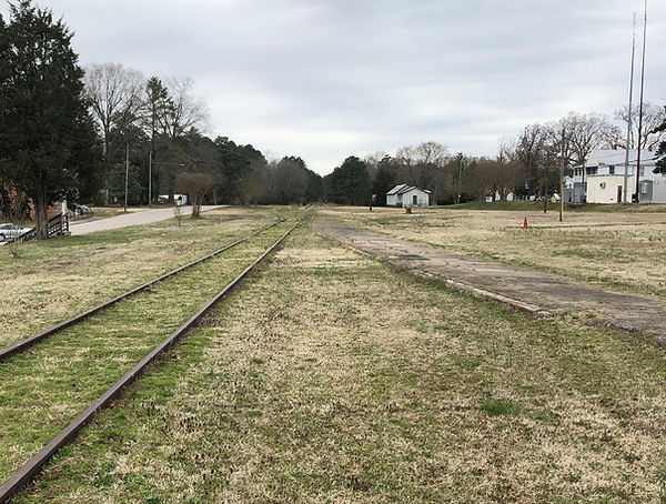 norlina, nc railroad juction 2019 - image by CR Britting (c) 2019